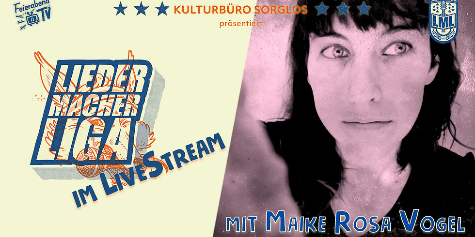 Liedermacher!innen Liga feat. Maike Rosa Vogel // Stuttgart