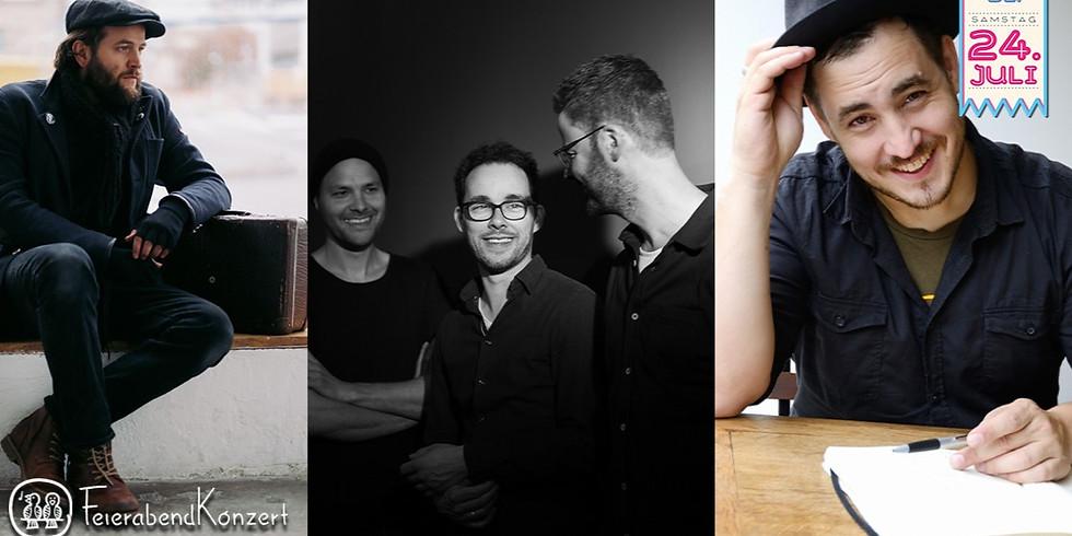 NEUE SONGS VOM FEIERABENDKOLLEKTIV MAX FRANÇOIS | FLORIJAN VAN DER HOLZ | MICHA SCHLÜTER (Kopfhörer)