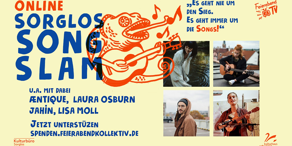 Online Sorglos Song Slam // Waiblingen
