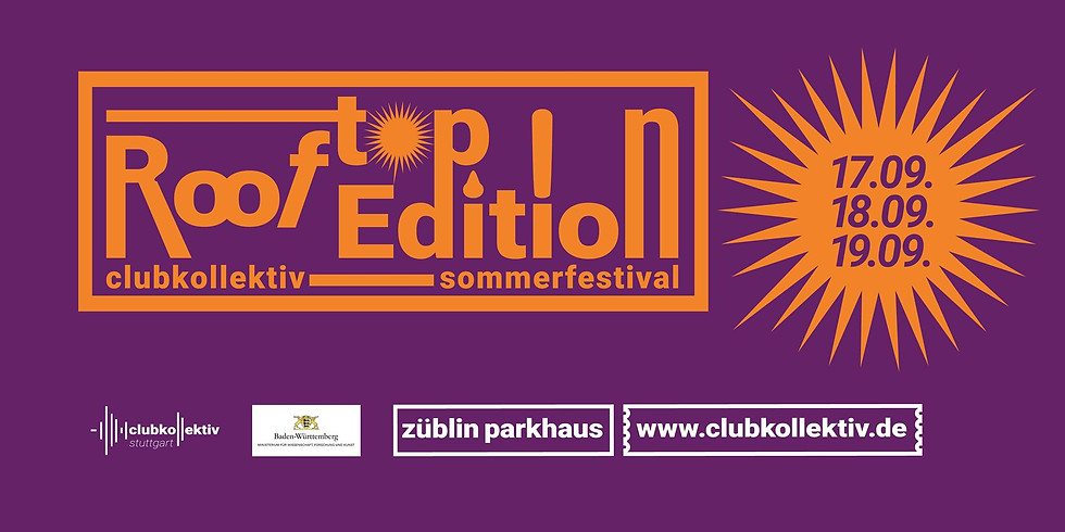 Club Kollektiv Sommerfestival 2021 Rooftop Edition