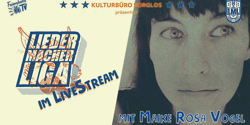 Online Liedermacher!innen Liga feat. Maike Rosa Vogel |Feierabend TV