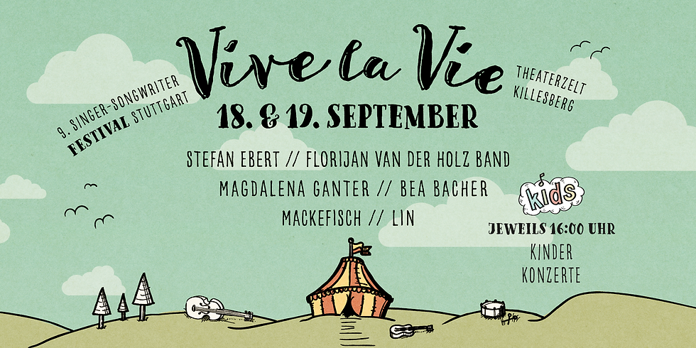 Vive la Vie 2021 // 9. Singer-Songwriter Festival Stuttgart