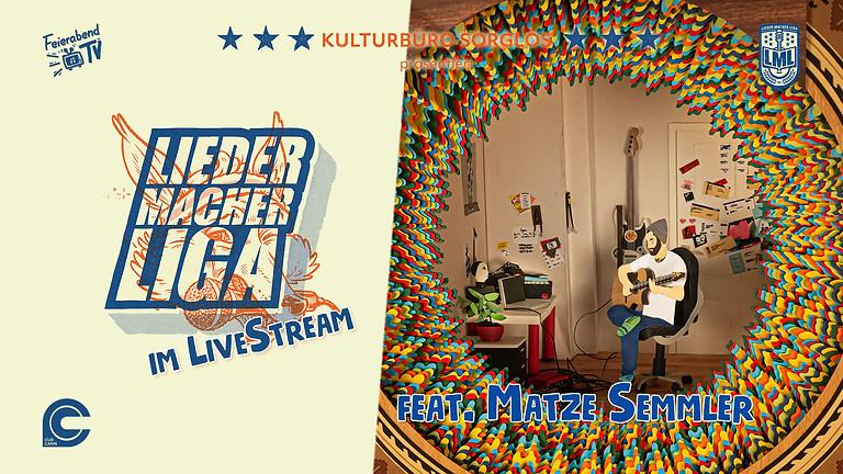Liedermacher!innen Liga feat. Matze Semmler | Stuttgart