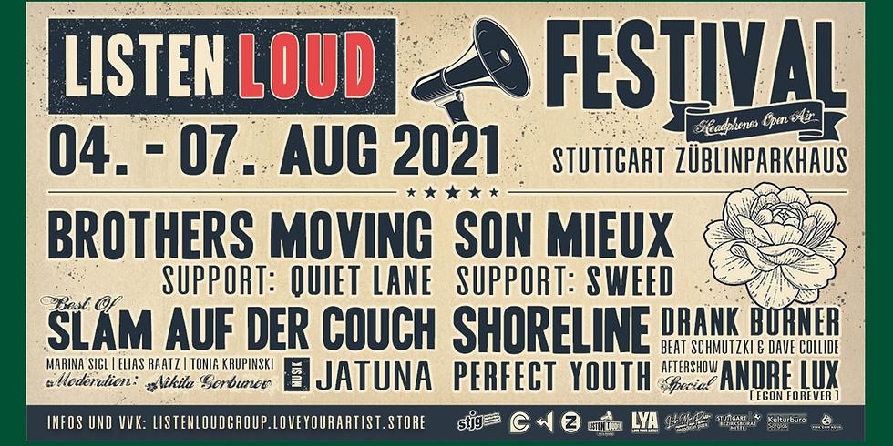 LISTEN LOUD FESTIVAL // StjG Stuttgart