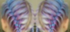 B▪R ▪A▪ I ▪D ▪S__Mermaid braid 💜💙 Our Stylist _annpenman gave our girl _amy_tateee beautiful braid