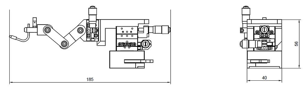 マイクロポジショナーmodel250