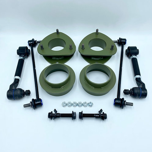 2 inch (51mm) Lift Kit with camber adjusters for 2003-2008 Honda Pilot