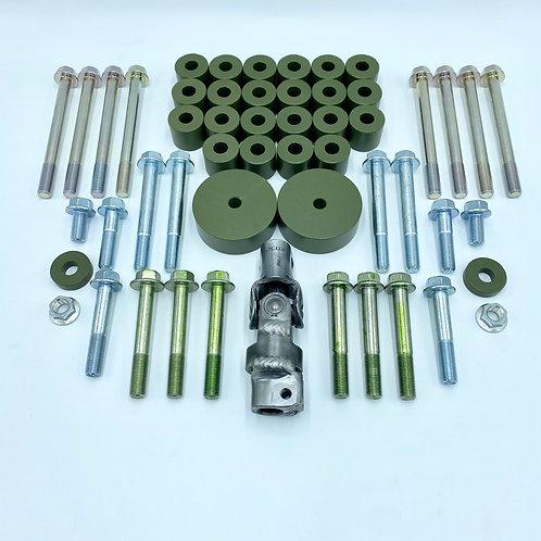 1 inch (26mm) Subframe Kit for 1988-1991 Honda Civic Wagon (RT4WD)
