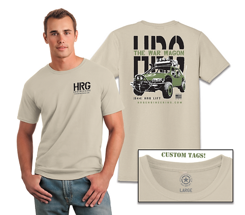 HRG Engineering War Wagon t-shirt