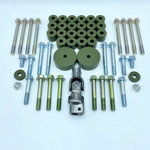 Kit de bastidor auxiliar de 1 pulgada (26 mm) para Honda Civic / CRX / Wagon 1988-1991