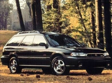 lifted subaru legacy