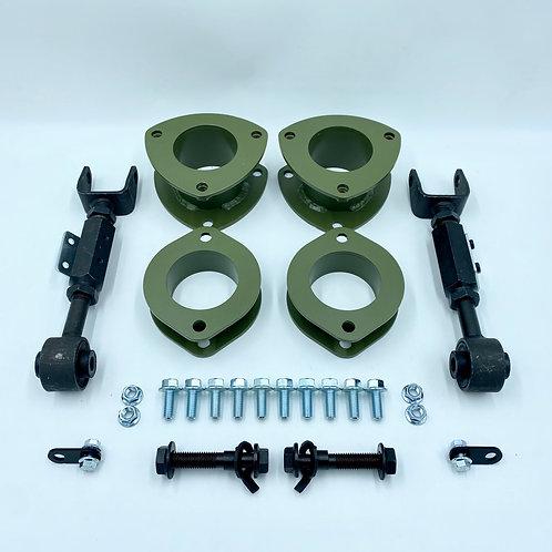 Kit de elevación Honda CRV 76 mm 2002-2006 con ajustadores de inclinación
