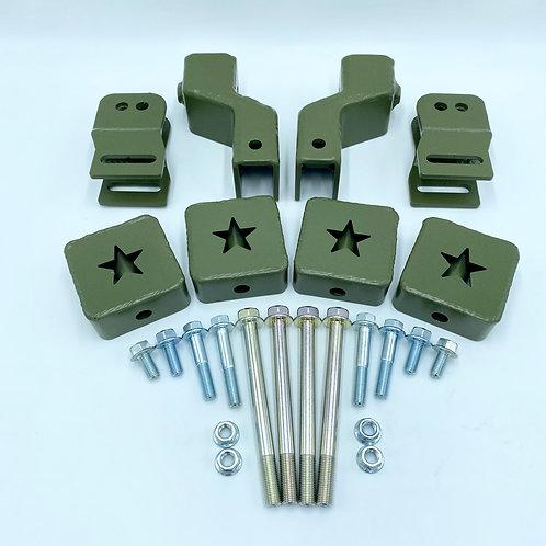 3 inch (76mm) rear trailing arm kit for 1997-01 CR-V