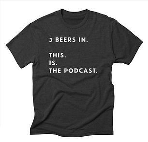 3 Beers In alt design tee