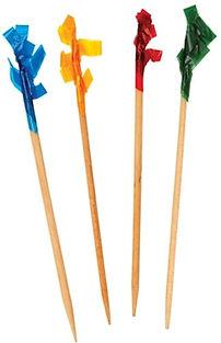 Frilly Toothpicks