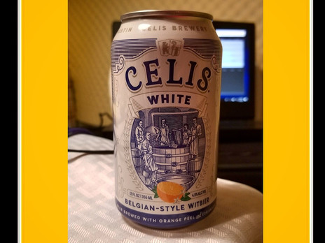 Episode 9: Celis White Witbier