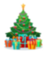 christmas-tree-with-bulbs-and-gifts-vect