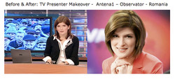 Alina News Presenter Before & After