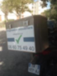 scooter opérateur de diagnostics immobilier