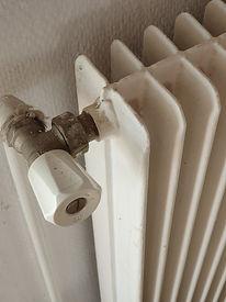 DPE-Radiateur fonte Gaz de ville (absence de robinet thermostatique)