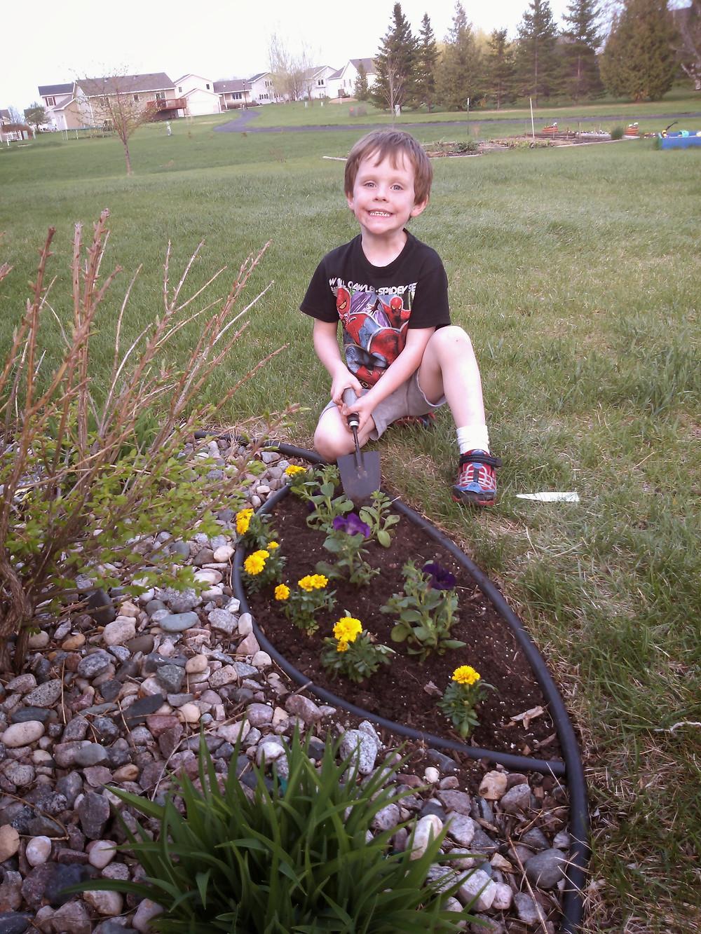 Jax gardening 5 years old