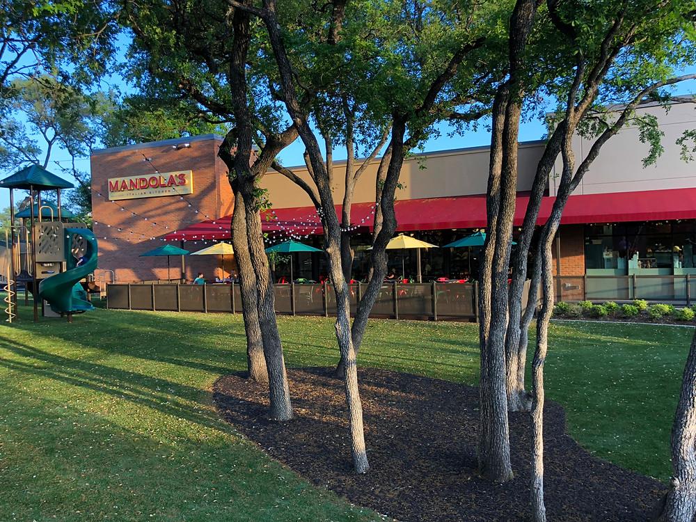 Mandolas Cedar Park Outdoor Patio