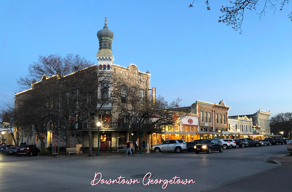 A Picture Of Downtown Georgetown, Texas
