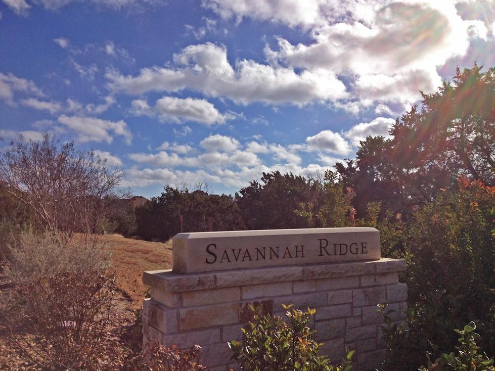 Dart Behind The Savannah Ridge Sign To Enter The Trail