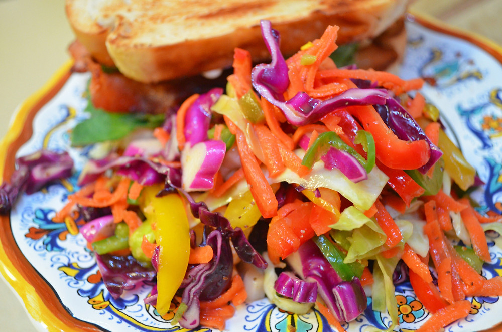 Firecracker Coleslaw Recipe From Home Style Austin