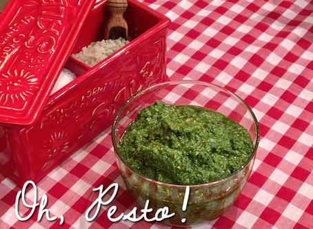 Recipe : Basil Pesto