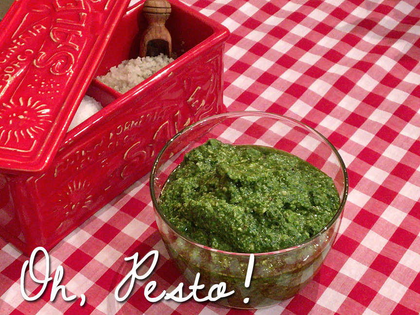 A Basil Pesto Recipe From Home Style Austin