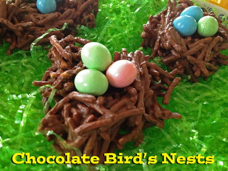 Recipe: Chocolate Bird's Nests