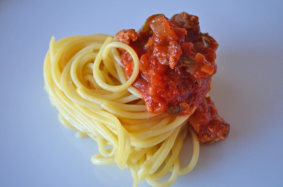 I Used My Red Sauce For This Valentine's Day Inspired Dish