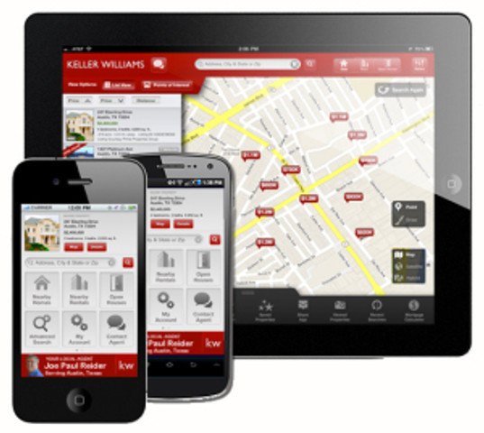 The New Keller Williams Real Estate Mobile App