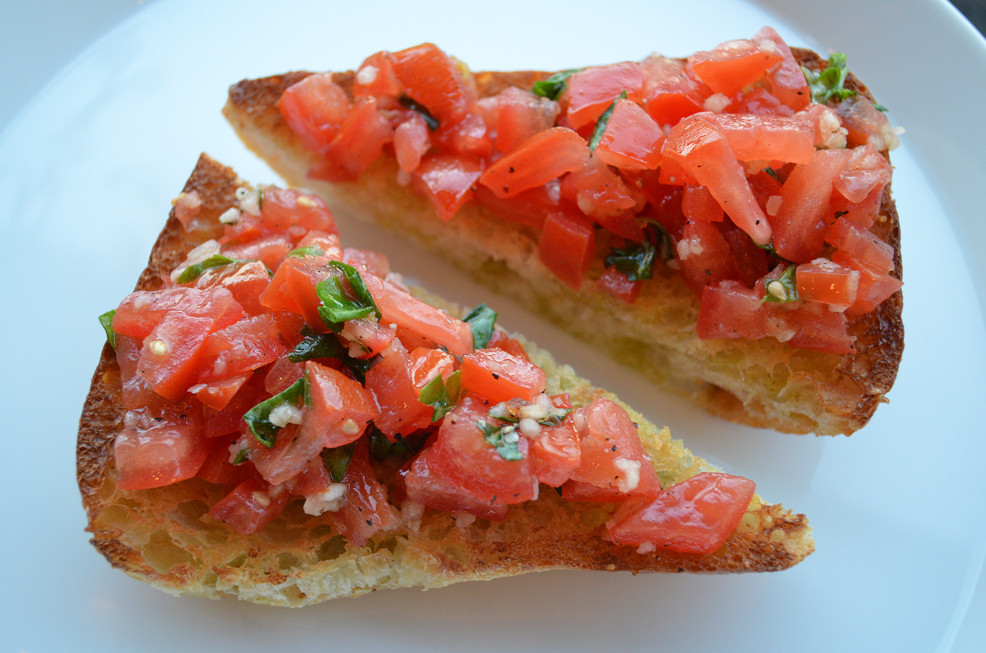 A Bruschetta Recipe From Home Style Austin