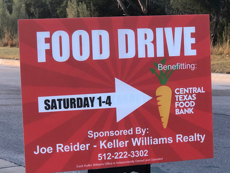 2020 Central Texas Food Drive