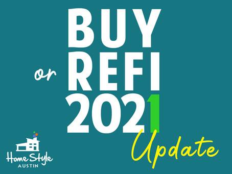 Home Financing 2021 Update