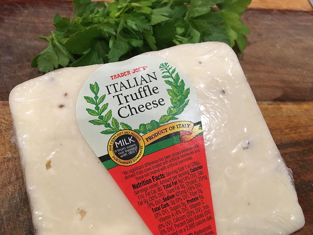 Trader Joe's Italian Truffle Cheese