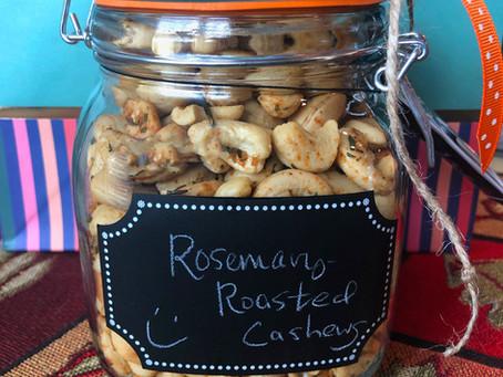 Honey-Rosemary Roasted Cashews