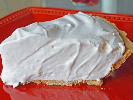 Pink Lemonade Ice Box Pie Recipe