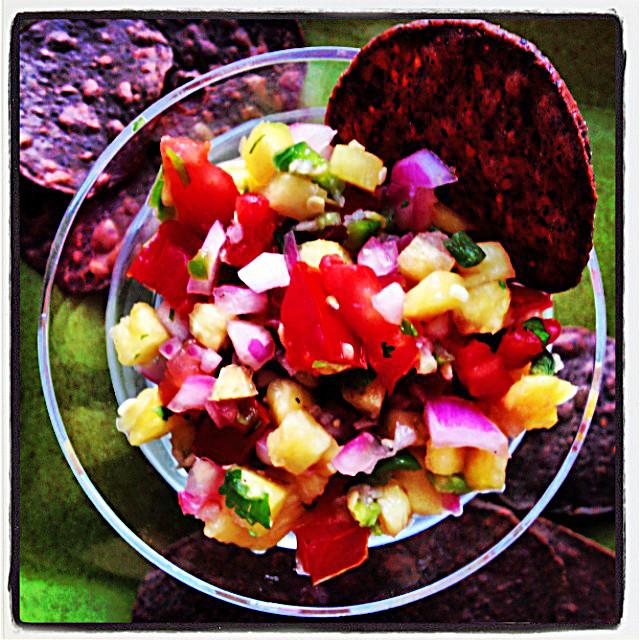 A Pineapple Pico de Gallo Recipe by Home Style Austin