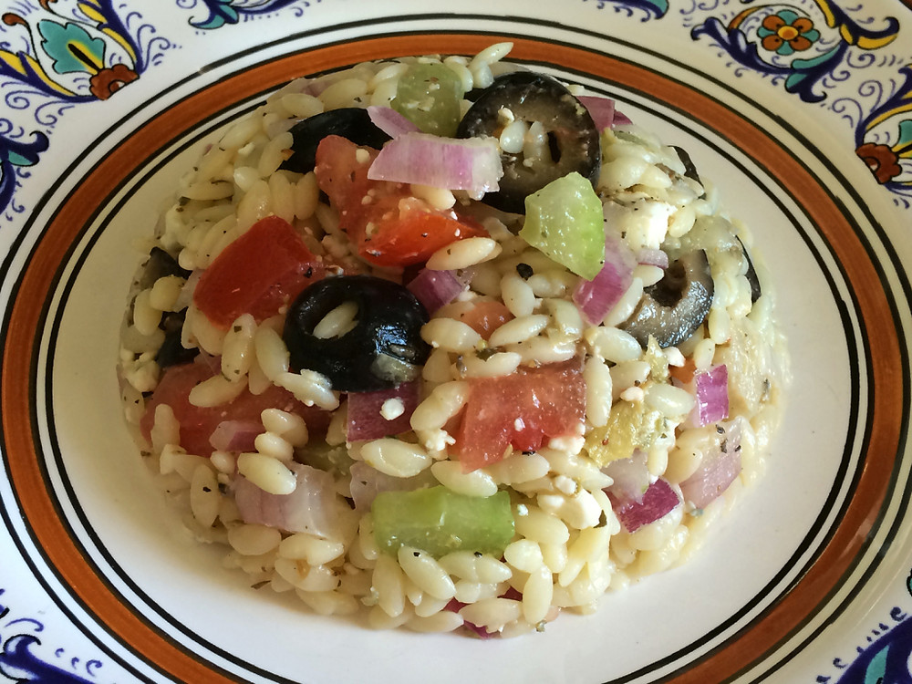An Orzo Salad Recipe From Home Style Austin