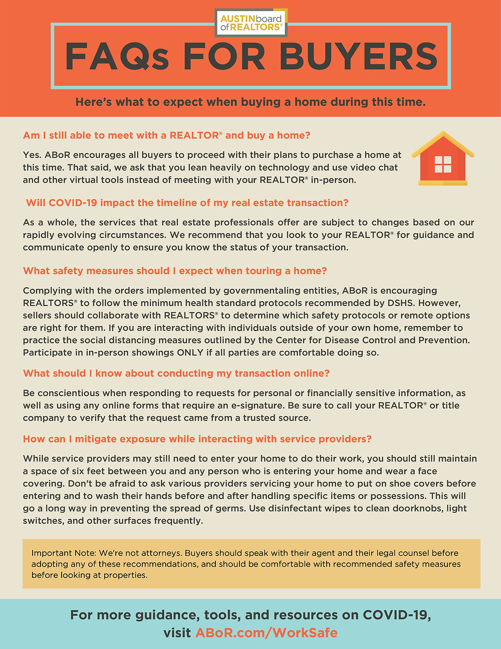 Top COVID FAQs For Homebuyers