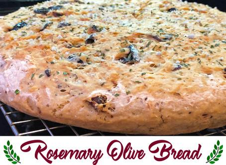 Rosemary Olive Bread Recipe