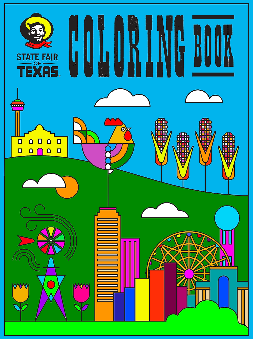 Download the free State Fair of Texas Coloring Book