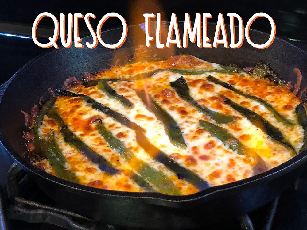 Queso Flameado Recipe