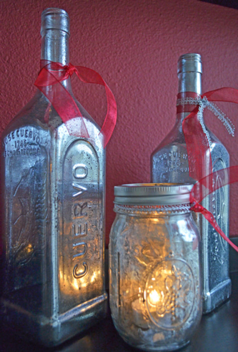 A Mercury Glass Project From Home Style Austin