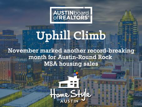 Central Texas November 2020 Housing Statistics