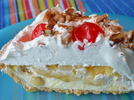 Banana Split Pie Recipe