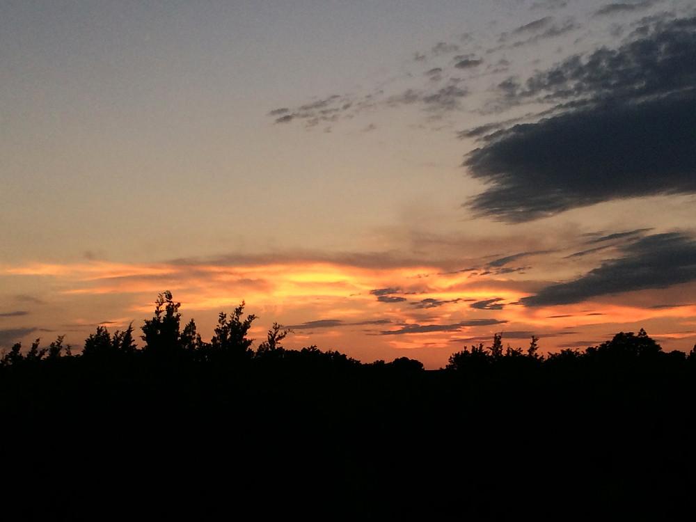 Brushy Creek Regional Trail Sunset